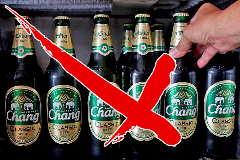 Alcohol ban coming up – stock up now