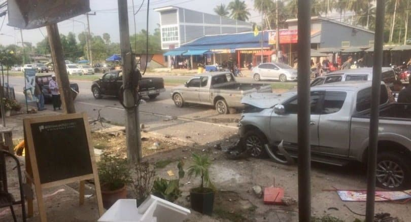 Bomb explodes in local food market, 2 dead