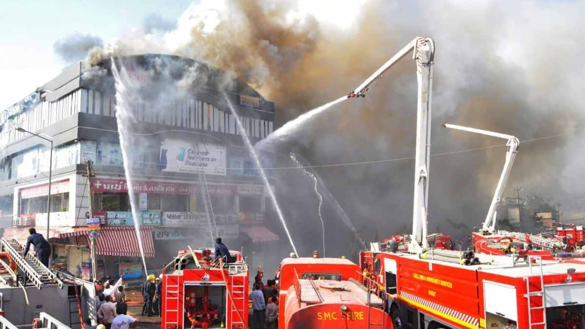 Indian police charge owners as school fire toll hits 20