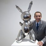 Koons's 'Rabbit' fetches record 91 million dollars at New York auction. A stainless steel sculpture of a rabbit by Jeff Koons has set an auction record in