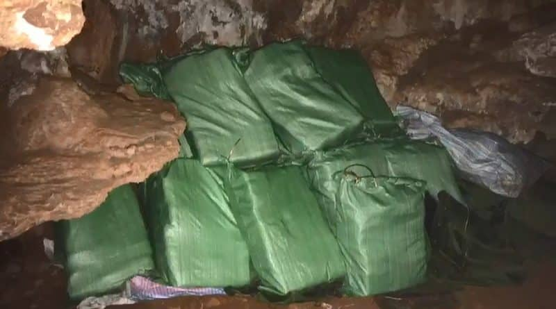 Tire tracks lead to 5.3 million Yaba pills hidden in Cave