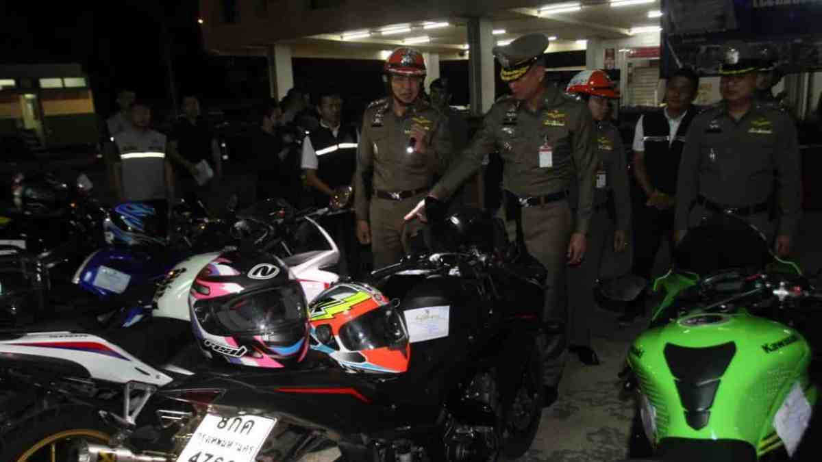 77 motorcyclists arrested in road racing crackdown