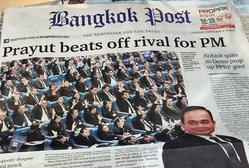 Bangkok Post stakes claim for HEADLINE OF THE YEAR