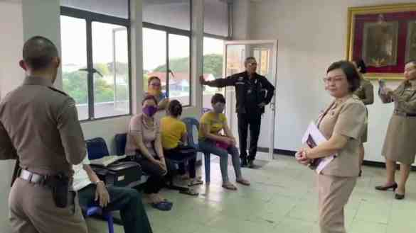 Four Vietnamese women arrested for unlicensed massage in Ubon. Four Vietnamese women were arrested on Tuesday for lacking a permit for massage work