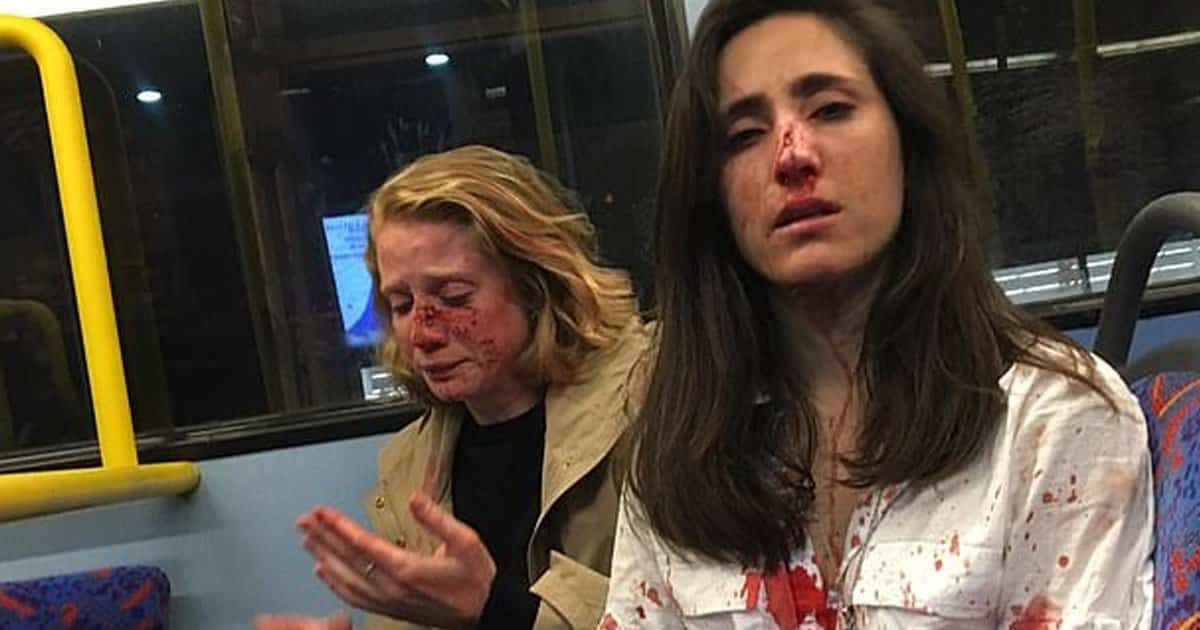 Lesbian Couple Attacked After Refusing To Kiss For Gang's Entertainment