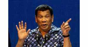 "Outrage as Philippines' Duterte says 'cured' himself of being gay. Philippine President Rodrigo Duterte has sparked outrage after claiming that he ""cured"""