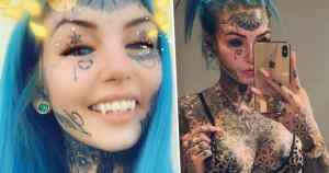Woman Spent $26,000 Modifying Body To Look Like A Dragon. A woman who spent $26,000 on body modifications to look like a dragon girl has flaunted