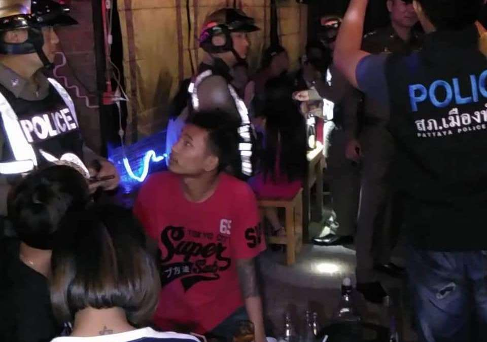 Pattaya Police inspect three local bars after resident complaints, find multiple problems