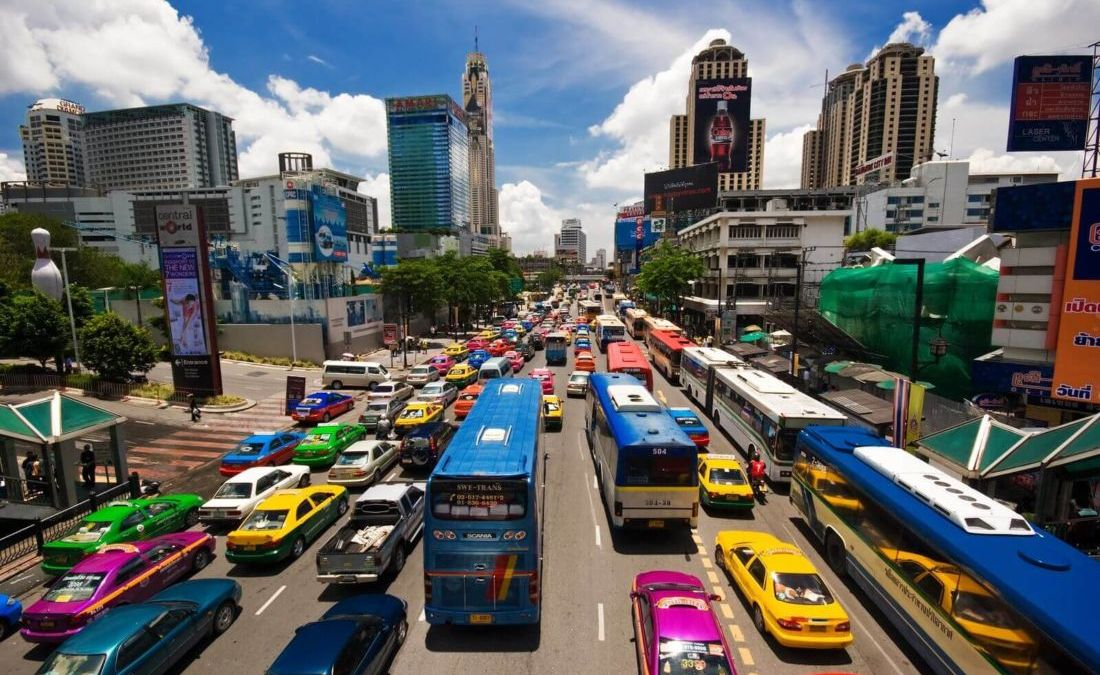 Growth of Thai economy lowest in nearly five years