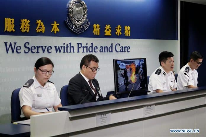 HK Police: 13 More Arrested for Protest 'Illegal Activities'