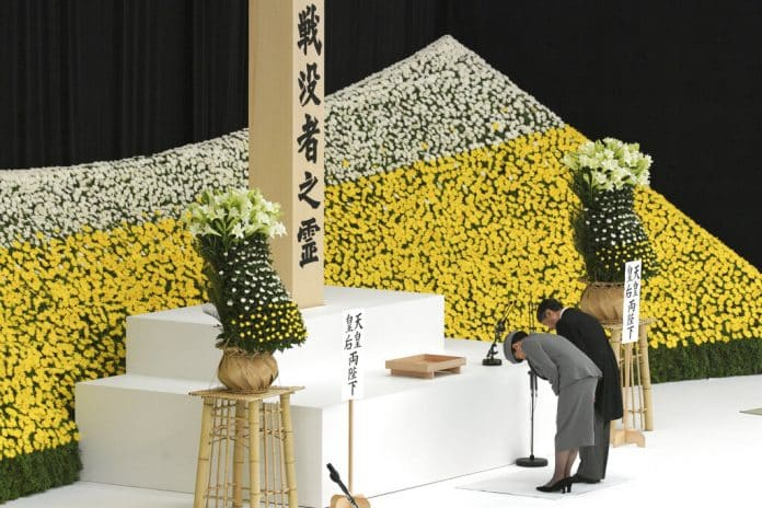 Japan's New Emperor Remorseful in 1st War Anniversary Speech
