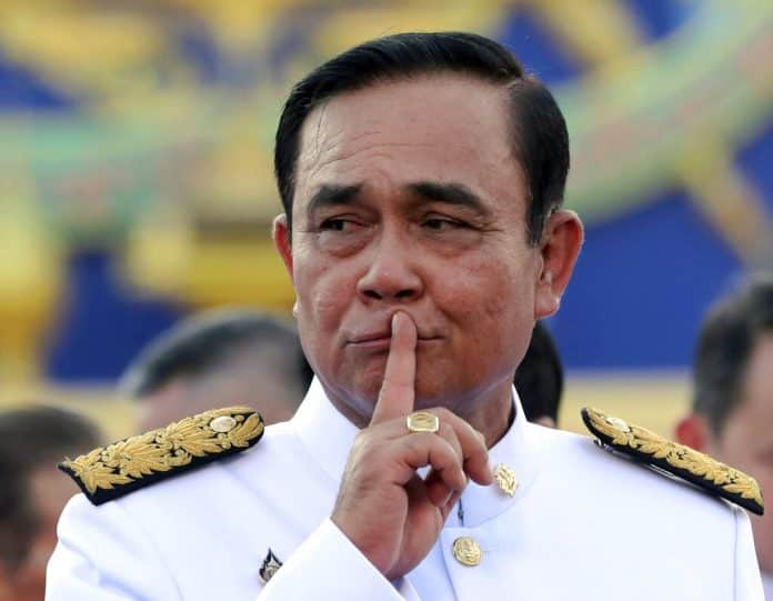 Prayuth Not Quitting for Botching Oath
