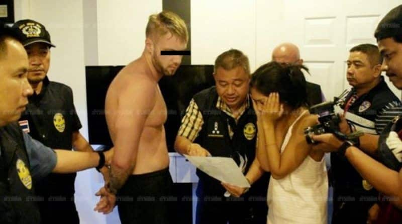 Two British men arrested for dealing drugs in Thailand