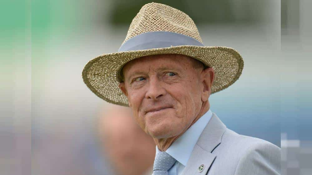Bowled out by Brexit, former PM May honours cricket hero Geoffrey Boycott