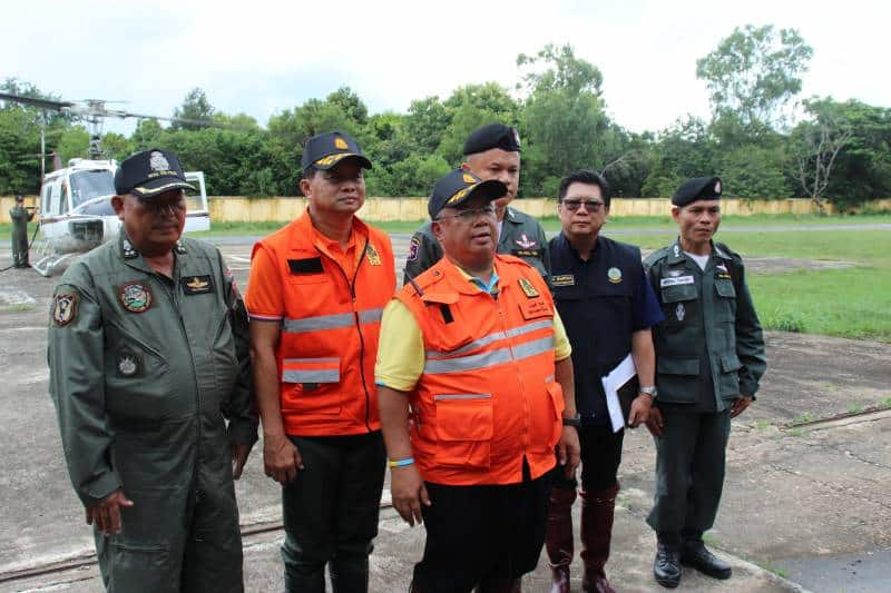 Flooding critical in Ubon Ratchathani