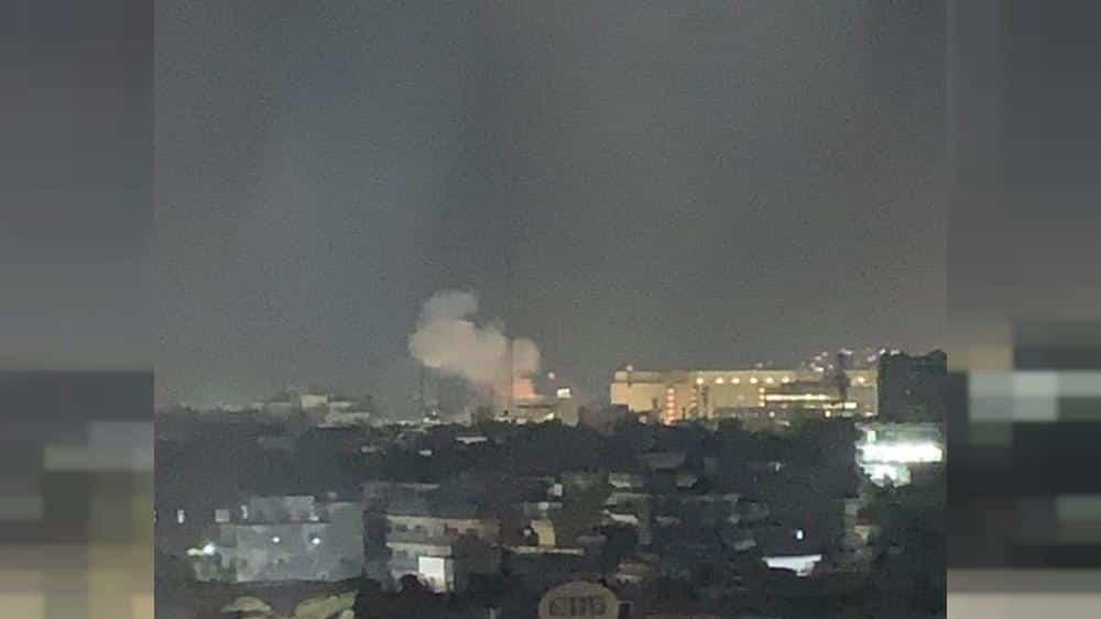 Rocket blast at U.S. Embassy in Kabul on 9/11 anniversary