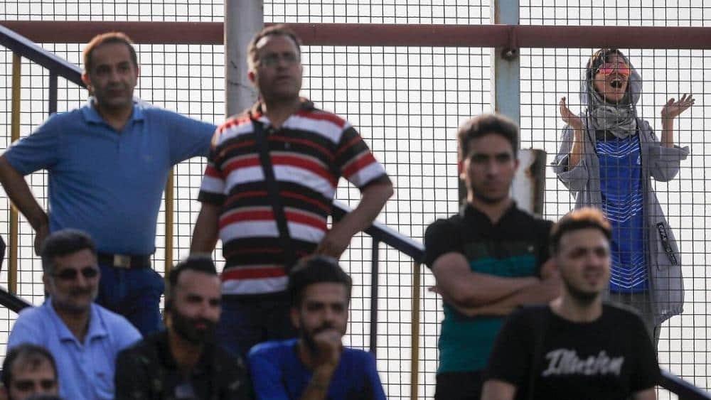Woman dies after setting herself ablaze over Iran stadium jail fears