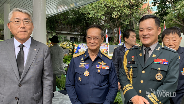 The commemoration of Thai-Muslim veterans who were lost in the Korean War