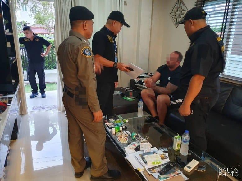 British drug suspect held in Pattaya