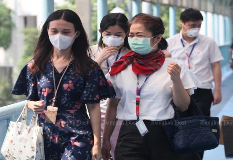 number Covid19 infections Thailand steadily decreasing, seems day-long rise come end