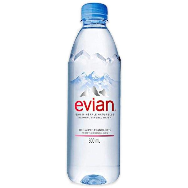 evian water pattayawine