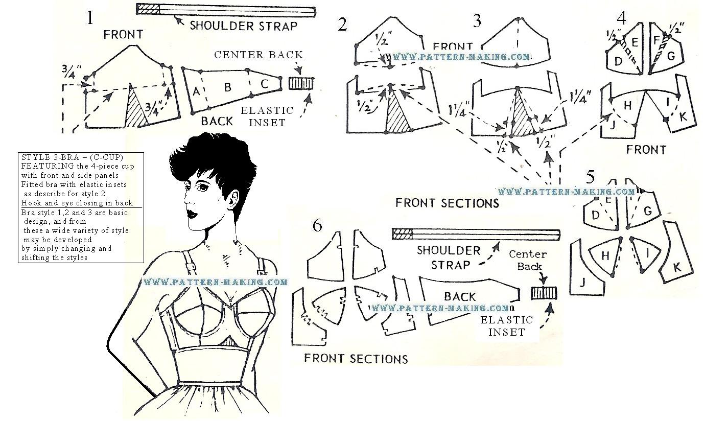 Drafting Bra Pattern