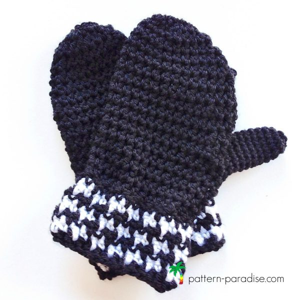 Free Pattern – The Houndstooth Bites – Mittens!