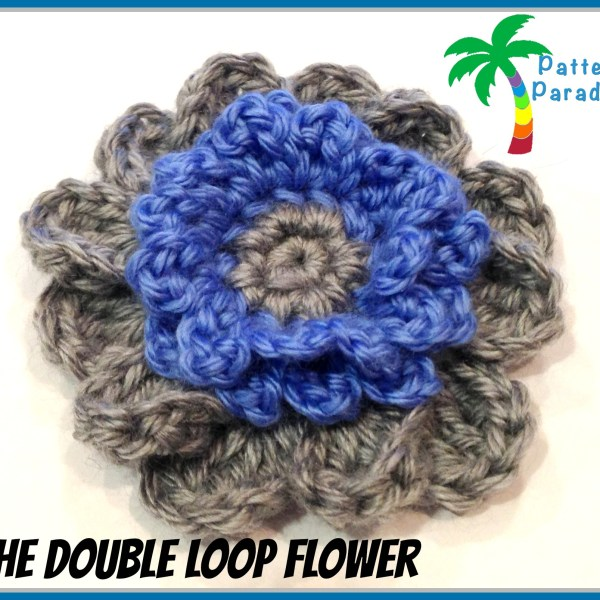 Free Pattern – The Double Loop Flower