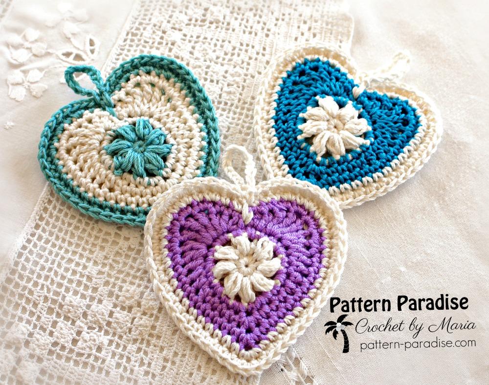 Free Crochet Pattern Sachets And Trinkets Pattern Paradise