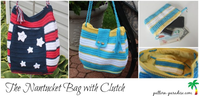 Crochet Pattern Nantucket Bag on Pattern-Paradise.com
