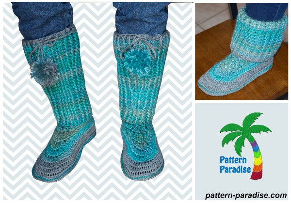 ravelry cozy feet tall
