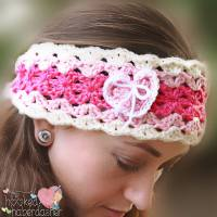 Sweetheart Headband by The Hooked Haberdasher