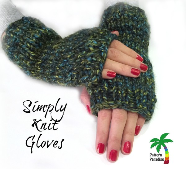 FREE Knit Pattern – Simply Knit Gloves