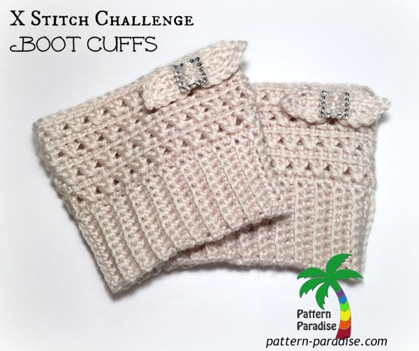 XSt Boot Cuffs title by pattern-paradise.com