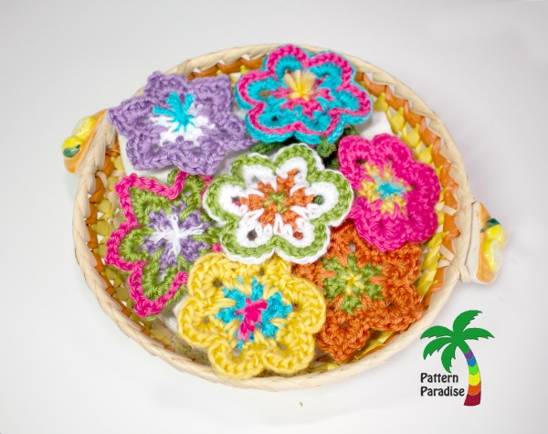 Free Crochet Pattern Flower Power by Pattern-Paradise