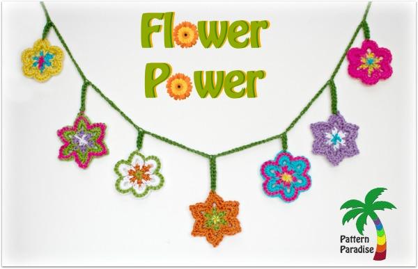 Free Crochet Pattern-Flower Power!