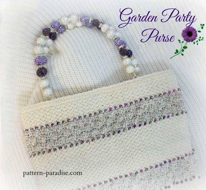 Crochet Pattern for Garden Party Purse by Pattern-Paradise