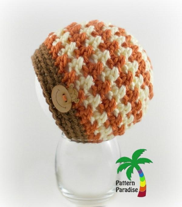 Crochet Pattern X Stitch Challenge Julia Hat by Pattern Paradise