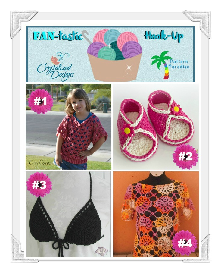 FAN-tastic Hook-Up Link Party #29 on Pattern-Paradise.com