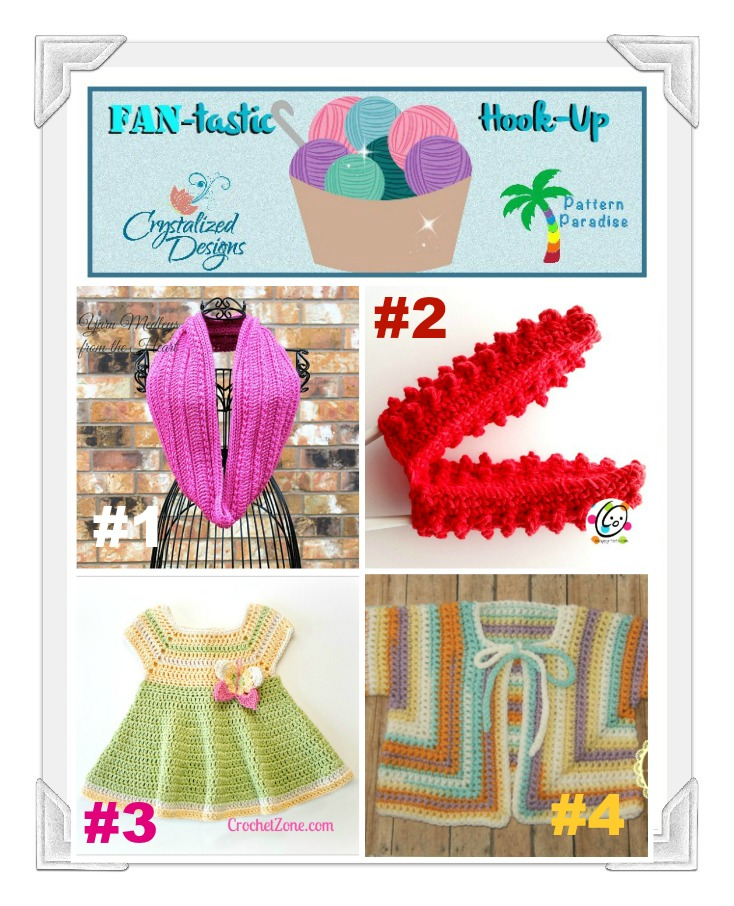 FAN-tastic Hook-Up Link Party #27 on Pattern-Paradise.com