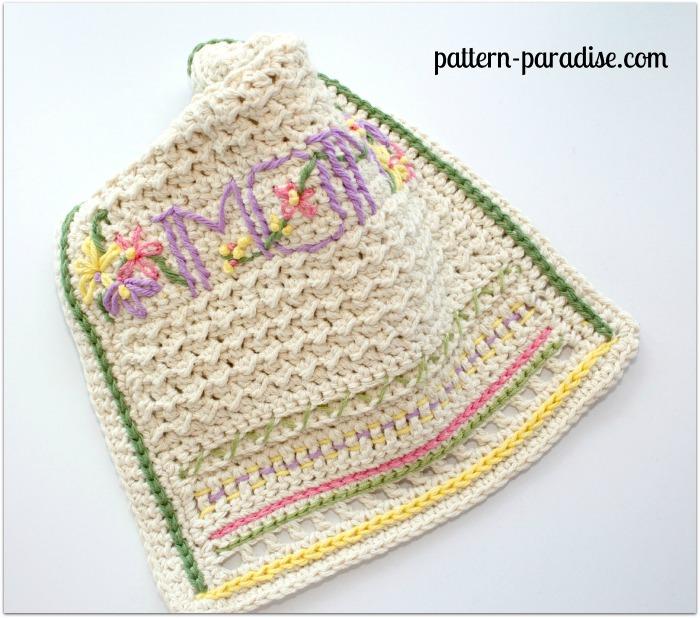 Momogram Dishtowel by Pattern-Paradise.com 3