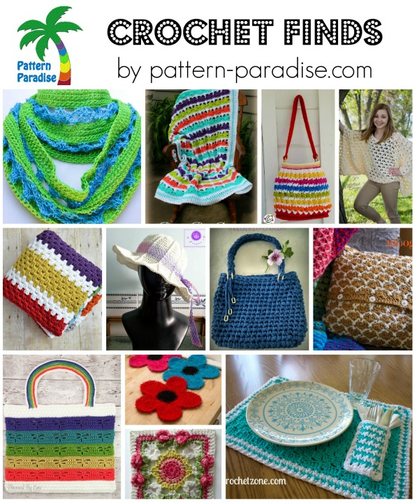 Crochet Finds by Pattern-Paradise.com 6-1-15