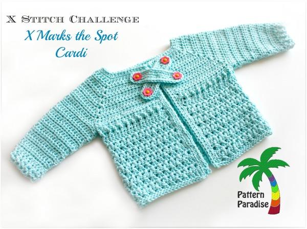 X St Cardi Crochet Pattern by Pattern-Paradise.com 2976