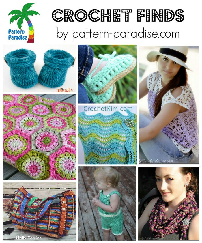 Crochet Finds on Pattern Paradise 7-20-15