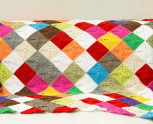 Kaleidosopic Lap Rug by A Creative Being