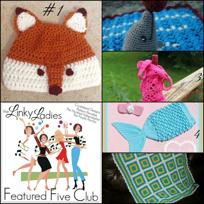 Linky Ladies Featured Five Club #9
