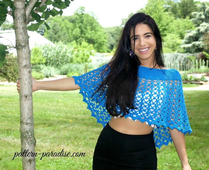 Crochet Pattern - Serenity Wrap & Beach Skirt by Pattern-Paradise.com