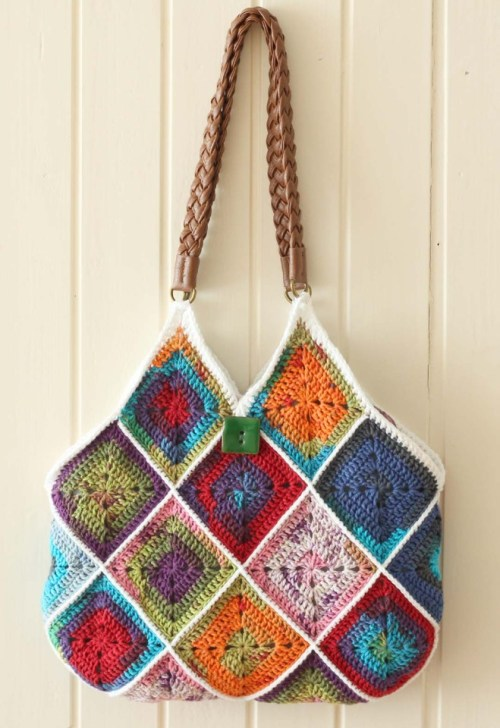 Square Bag by A Creative Being