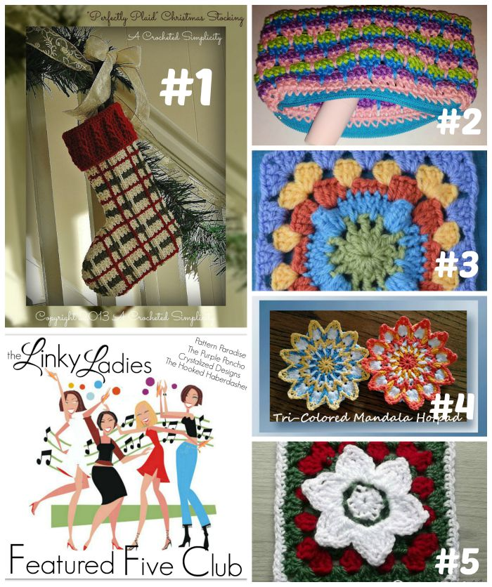 Linky Ladies Link Party on Pattern-Paradise.com