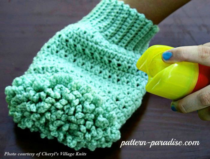 Crochet Pattern Bubble Buddies Dish Scrubbers by Pattern-Paradise.com